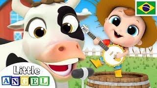 Seu McDonald Tinha uma Fazenda! | Clássico Infantil do Little Angel Português