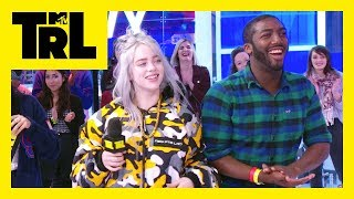 Billie Eilish Plays 'Older or Younger' w/ TRL Fans! | Weekdays at 3:30pm | #TRL