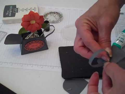 Watering Can using Petite Purse Die by Create! with Dee