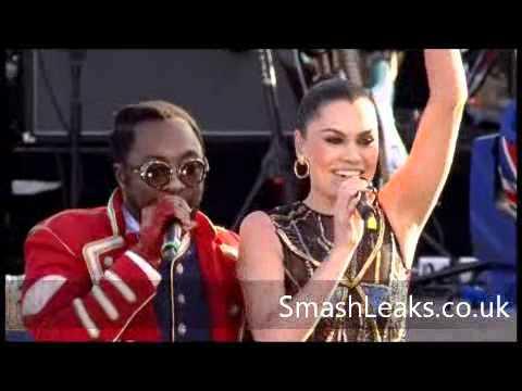 Will.I.Am & Jessie J Jubilee Concert Performance