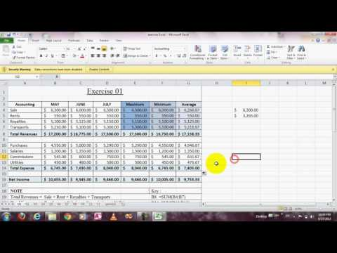 How to calculate total revenues