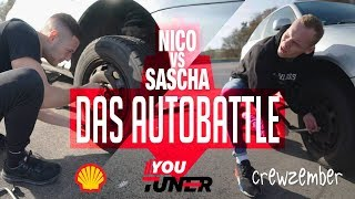 Nico VS. Sascha | Das Auto Battle | Crewzember