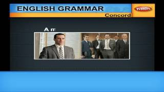 Concord | Learn English Grammar for kids | English Learning
