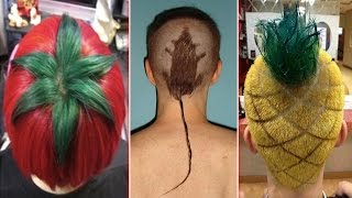 Most Hilarious & Craziest Hairstyles Ever