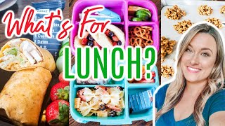 WHATS FOR LUNCH | IDEAS AND RECIPES FOR LUNCH AT HOME, WORK, & SCHOOL | Cook Clean And Repeat