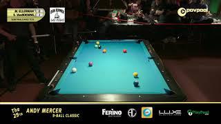 2019 Andy Mercer 9-Ball Classic / SEMI FINAL - Mitch Ellerman vs Shane VanBoening