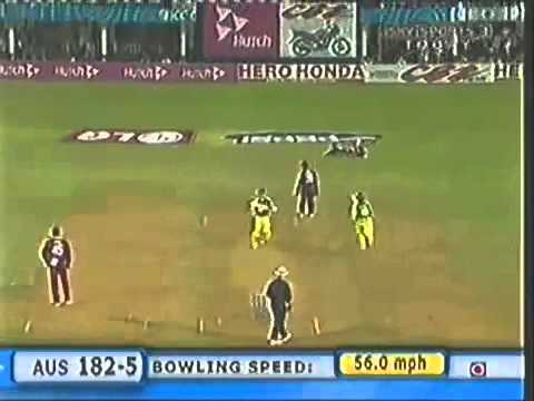 Chris Gayle Crazy, But West Indies Won Against Australia   2006 Champions Trophy video