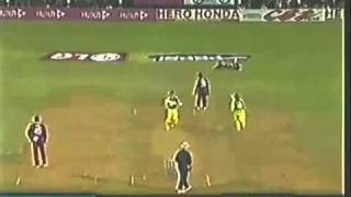 Chris Gayle Crazy, But West Indies Won against Australia   2006 Champions Trophy
