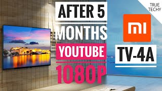 Mi Tv 4A 43 inch Review After 5 Months,Mi Tv 4C pro better? Features & Flaws,Review,Youtube 1080P