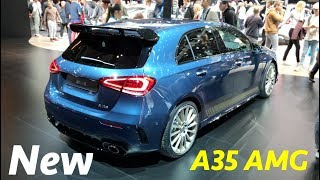 Mercedes A35 AMG 2019 first look in 4K -interior/exterior