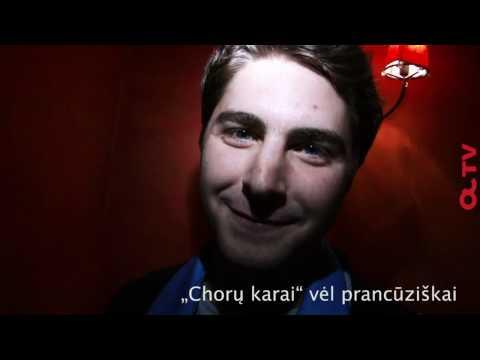 """Liežuvio mankšta - """"Chorų karai"""" įvairiomis kalbomis"""
