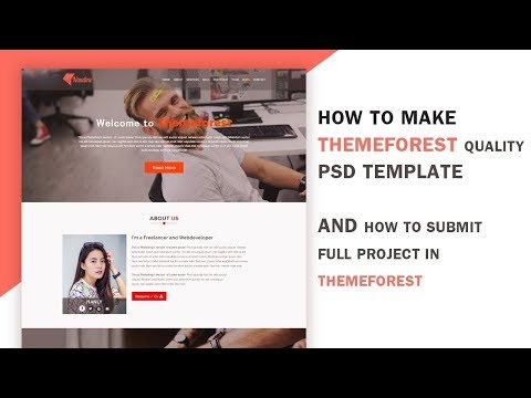 Themeforest PSD Template Web Design Tutorial (Nandine) Part -14