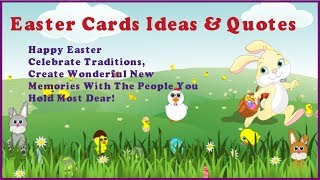 Easter quotes | Easter card ideas | Easter card designs | Easter messages | kids fun learning
