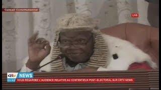 SCANDALE au Conseil Constitutionnel Maurice KAMTO et ses Partisans quittent la salle