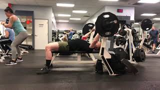 4/24/19 Comp Bench 5x3