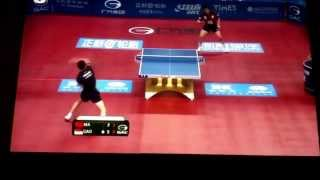 Ma Long vs Gao Ning beatiful(güzel)point