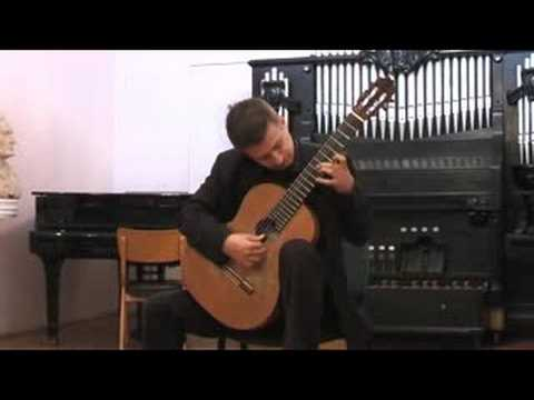Goran Krivokapic - Bach Violin Sonata III Fuga