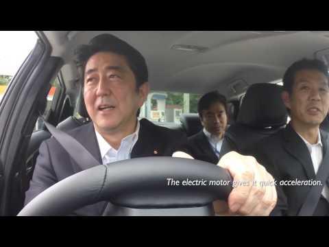 Japan's prime Minister & the Toyota FCV