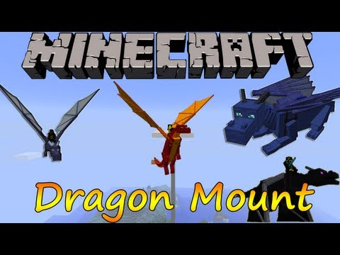 Minecraft 1.6.2 Dragon Mount Español