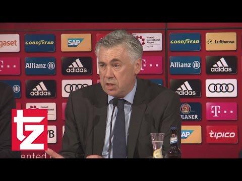 """Carlo Ancelotti: Erste Pressekonferenz / FC Bayern / """"Ich liebe es, hier zu sein"""""""