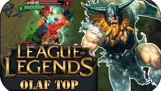 SCHEIß AUF CC!!! OLAF TOP | League of Legends Gameplay deutsch