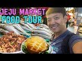 "TRADITIONAL Korean Market FOOD TOUR: ""Five Day Market"" in South Korea"