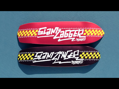 Krooked X Slam City Zip Zinger & Zig Zagger