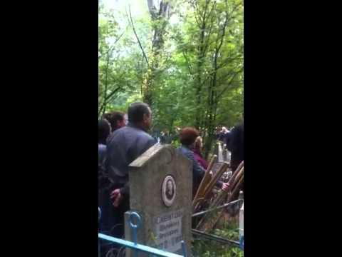 Похороны Александра Галимова