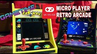 Micro Retro Arcade: Pac-Man & Galaga