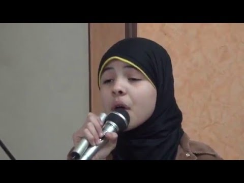 نشيد قمر سيدنا النبي للطالبة صفاء الكومي من الندوة الدينية بالعمرانية في مولدالهدى