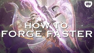 Dawn of Titans: How to Forge Faster