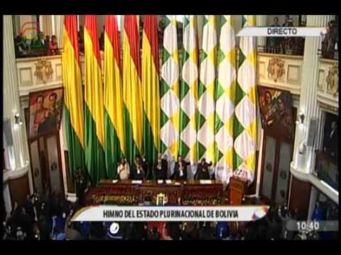 Posesion a Evo Morales como Presidente de Bolivia