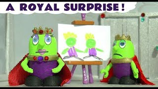Funny Funlings Royal Surprise for King and Queen Funling with Rascal Funling