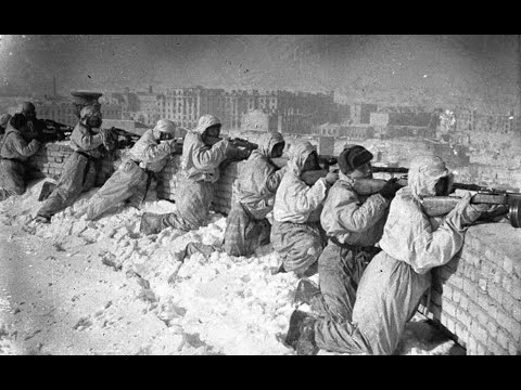 битва за Сталинград редкие кадры