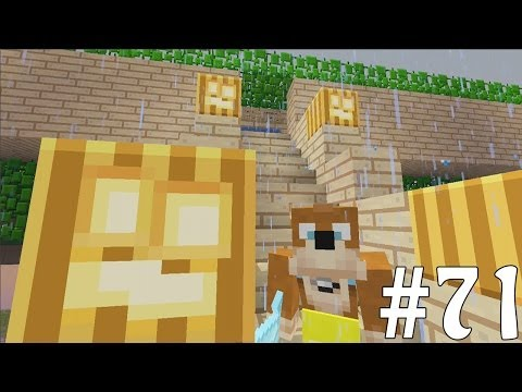 Minecraft Xbox - Sky Island Challenge - PvP Halloween Map!! [71]