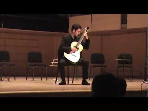 Marc-Etienne Leclerc - Cadenza from Concierto del Sur by Manuel Ponce