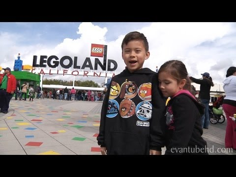 EvanTubeHD goes to LEGOLAND. California!