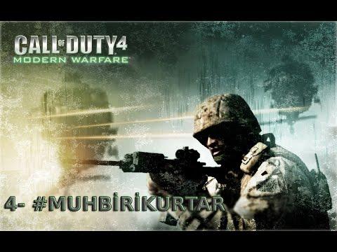 Call Of Duty Modern Warfare Bölüm 4 Blackout - Muhbiri Kurtar