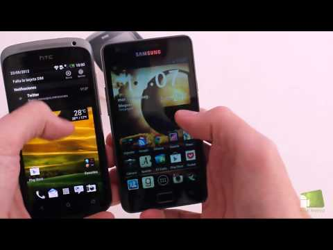 Comparativa HTC One S vs Samsung Galaxy S2   Faqsandroid.com