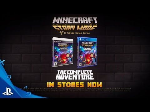 Minecraft: Story Mode - A Telltale Games Series - The Complete Adventure Trailer | PS4, PS3