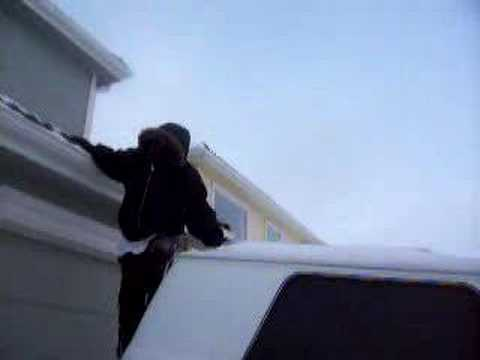DJ KTONE- THE STUNT MAN (IN THE BLIZZARD) Video