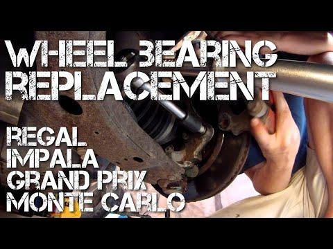 Wheel Bearing Replacement Grand Prix