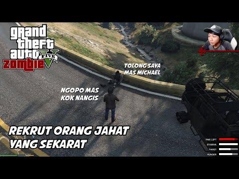 GTA 5 ZOMBIE SEASON 2   SERGAP PASUKAN TRUS DI REKRUT JADI TIM - Part 43