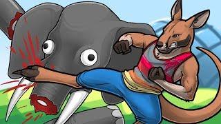 Kung Fu Kangaroo! - Zooicide Funny Moments