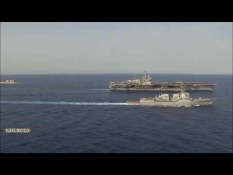 Срочно Ким Чен Ин атаковал флот США