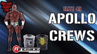 WWE FIGURE INSIDER: Apollo Crews - WWE Elite 49 WWE Toy Wrestling Action Figure