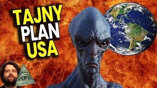 Wyciekł Tajny Plan USA na Wypadek Inwazji Kosmitów - Plociuch Spiskowe Teorie Kontakt z UFO OBCY PL