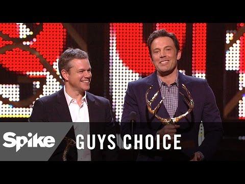 Guys of the Decade: Ben Affleck and Matt Damon - Guys Choice 2016