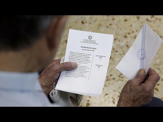 Les Grecs divisés face au référendum