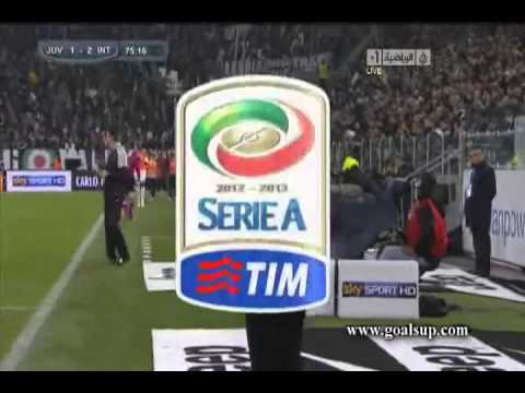 Juventus vs Inter Milan (1-3) Diego Milito scored GOAL 3/11/2012 Video in HQ